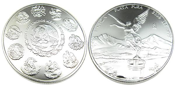 2009 Mexican Libertad Silver Coin