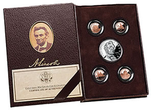 2009 US Lincoln Coin and Chronicles