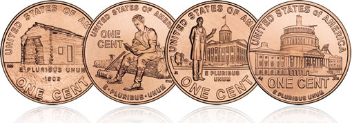 lincoln on a penny