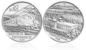 Railway of the Future Silver Coi