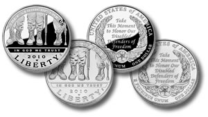 Disabled Veterans Commemorative Coins