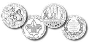 2010 Silver Commemorative Coins