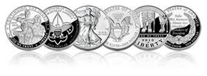 US Mint silver coin sales