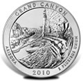 2010 Grand Canyon Silver Uncirculated Coins