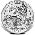 2010 Yellowstone Silver Uncirculated Coins