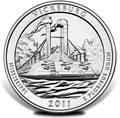 2011 Vicksburg Silver Uncirculated Coins