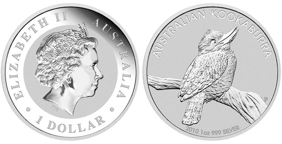 Australian kookaburra coin - photo#14