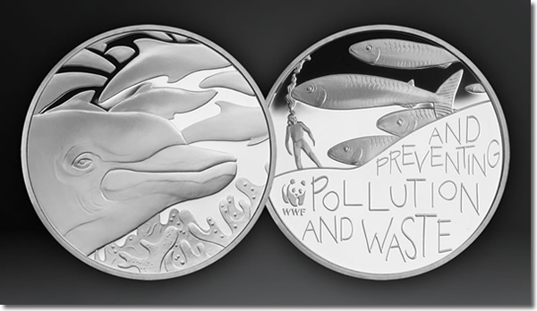WWF Silver Dolphin Medal