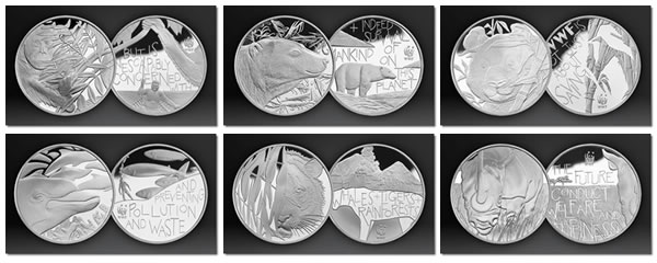 WWF Silver Medals