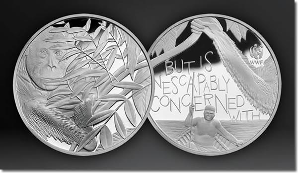 WWF Silver Orang-utan Medal