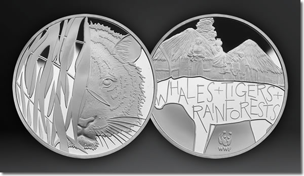 WWF Silver Tiger Medal