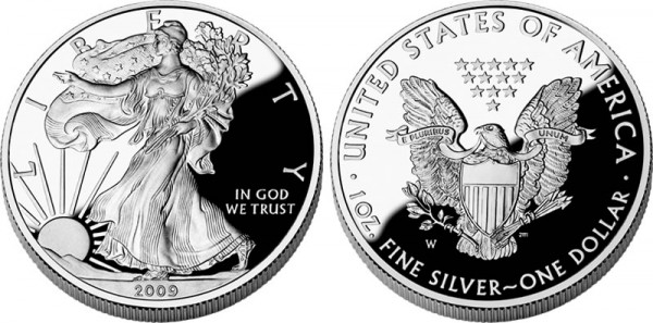 2009 Proof American Silver Eagle - Click to Enlarge