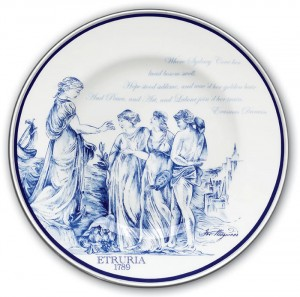 Wedgwood plate (Click to Enlarge)