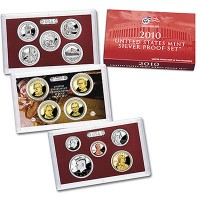 US Mint Silver Proof Set