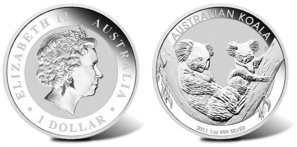 2011 Koala Silver Coin