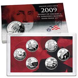 2009 Quarters Silver Proof Set