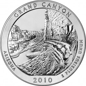 5-Ounce Grand Canyon National Park Silver Bullion Coin
