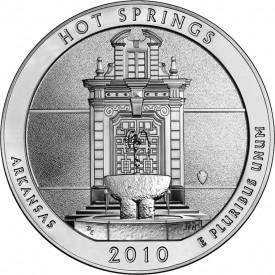 5-Ounce Hot Springs National Park Silver Bullion Coin