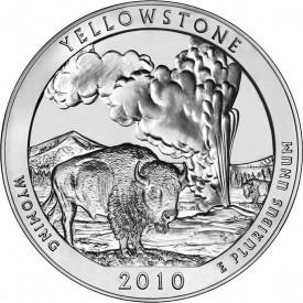 5-Ounce Yellowstone National Park Silver Bullion Coin