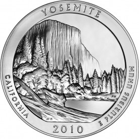 5-Ounce Yosemite National Park Silver Bullion Coin