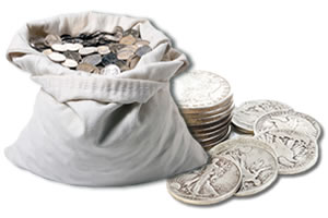 90 Percent Silver Coin Bag
