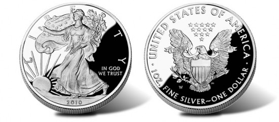 2010 Proof Silver Eagle Coin