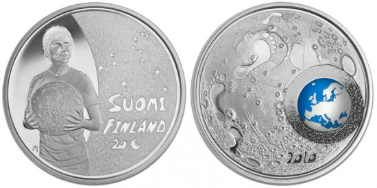 Finland Children and Creativity Silver Coin