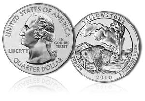 Yellowstone America the Beautiful Silver Bullion Coin