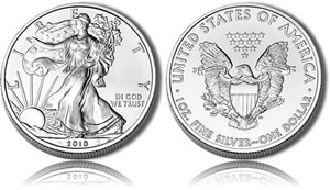 Bullion American Silver Eagle Coin