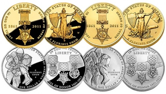Medal of Honor Commemorative Coins - Gold and Silver