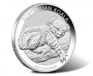 2011 Australian Koala 1oz Silver Coin