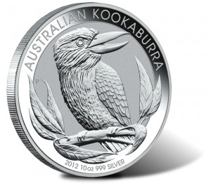 2012 Australian Kookaburra Silver Coin