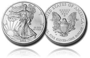 American Silver Eagle Uncirculated Coin