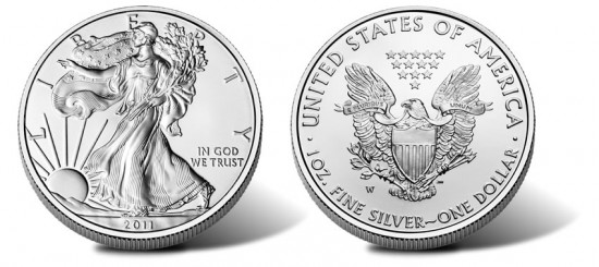 2011-W American Silver Eagle Uncirculated Coin