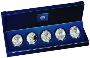 2011 American Silver Eagle Anniversary Set