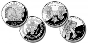 2011 Commemorative Silver Dollars
