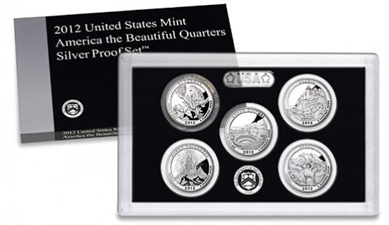 2011 2012 America the Beautiful National Parks Silver /& Clad Proof Sets