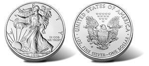 Uncircualted Silver Eagle