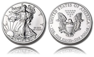 2012 American Silver Eagle Bullion Coin