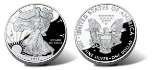 2012-W American Silver Eagle Proof Coin