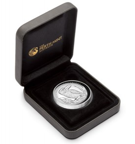 2012 Australian Kookaburra High Relief Silver Coin In Case