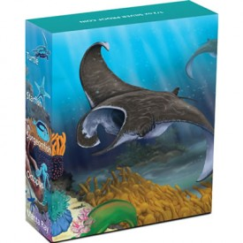 2012 Australian Manta Ray Silver Proof Coin in Shipper