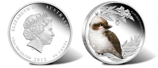 2012 Bush Baby Kookaburra Silver Coin