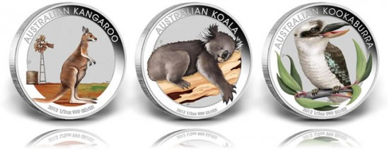 2012 Australian Outback Silver Coin Collection