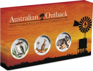 2012 Australian Outback Silver Coin Collection in Shipper