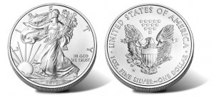 2012-W American Silver Eagle Uncirculated Coin