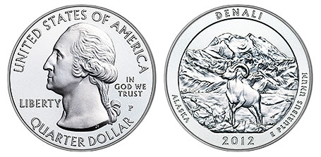 2012 P Denali Park Quarter From Uncirculated Mint Sets Combined Shipping