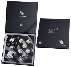 2012 United States Mint Limited Edition Silver Proof Set