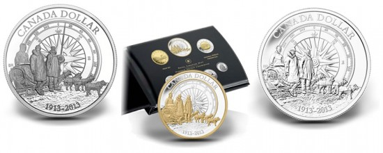100th Anniversary of the Canadian Arctic Expedition Silver Dollars