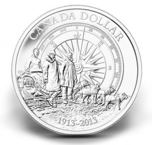 2013 Canadian Arctic Expedition Brilliant Silver Dollar